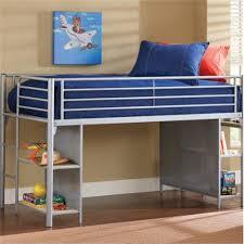 Loft Bedroom Furniture Children Bedroom Furniture Metal Loft Bed With Desk And Shelving