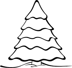 christmas drawing outline.  Christmas Basic Christmas Tree Outline Drawing Clip Art Pictures Images On H