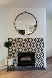 moroccan tile fireplace surround ideas