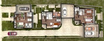townhouse floor plans. 3D Floor Plan Townhouse Plans