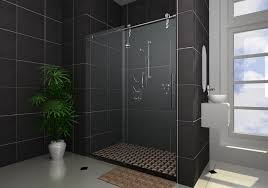 contemporary sliding shower doors. image of: frameless sliding shower doors decor contemporary o