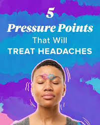 Headache Acupressure Points Chart Pressure Points For Headaches Tension Sinus And More