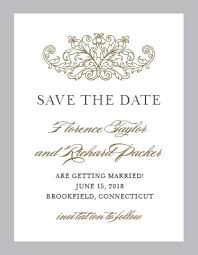 No Photo Save The Date Cards Match Your Color Style Free Save The