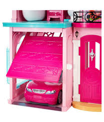 ... Barbie Pink Plastic Doll House ...