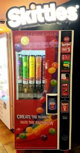 Create The Rainbow Skittles Vending Machine New Photos For Regal Cinemas City North 48 IMAX RPX Yelp