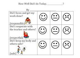 Behavior Smiley Chart Inquisitive Free Printable Smiley Face Behavior Chart