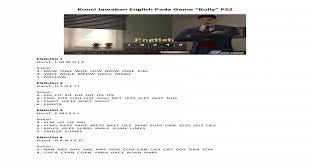 Kunci Jawaban English Pada Game Bully Ps2 Pdf Document