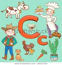 C Is For Carrots Coloring Page Twisty Noodle Carrot And Cow Pages