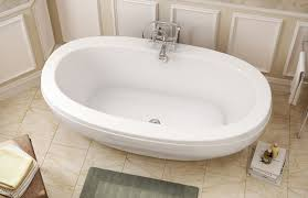 freestanding bathtub oval acrylic