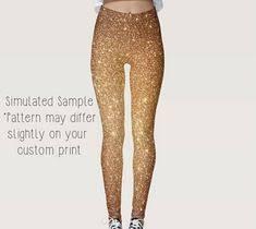 Gold <b>Sequin Print Leggings</b>, <b>Yoga</b>, <b>Workout</b>, Exercise, Disco, <b>Glitter</b> ...