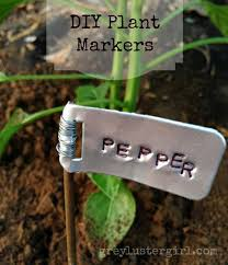 vegetable gardening labels luxury 19 cute and no money ideas to label the garden plants amazing