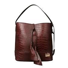 Coach Bleecker Sullivan In Embossed Medium Coffee Shoulder Bags