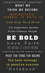 Self Help Quotes Inspirational Journal Inspirational Journal to Write In Self Help 67
