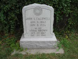 Anna Augusta Brown Caldwell (1867-1945) - Find A Grave Memorial