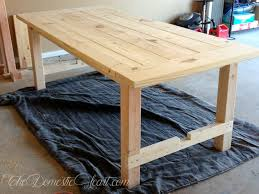 Home Made Kitchen Table Imposing Decoration Homemade Dining Table Charming Design How To