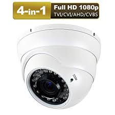 Amazon.com : <b>1080P</b> 4-in-1 <b>CCTV HD</b> Security Dome Camera, (TVI ...