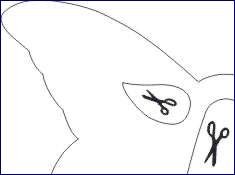 Schneiden sie die teile der vorlage mit der schere aus. Drucken Basteln Fertig Witzige Faschingsbrille Pelikan