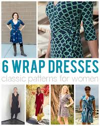 Wrap Dress Sewing Pattern Inspiration That's A Wrap 48 Wonderful Wrap Dress Patterns For Women