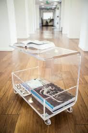 acrylic bedside tables gus modern acrylic i beam table gus modern