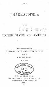 historical timeline medical marijuana procon org cover of the 1851 united states pharmacopeia source antiquecannabisbook com accessed dec 12 2011