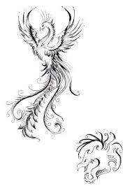 Realistic Phoenix Bird Drawings Google Search Create Drawing