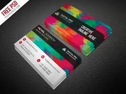 business card psd template creative multicolor business card template free psd psdfreebies com