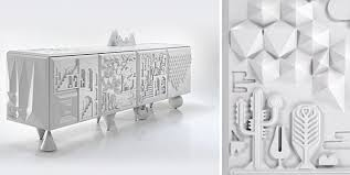 Unusual furniture pieces Cool View In Gallery Modern Artistic White Cabinet Decoist Unusual Furniture Pieces From Materials To Shapes