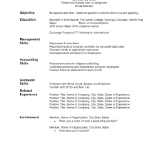 Amazing Demo Of Resume Ensign Documentation Template Example Ideas