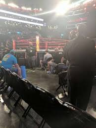 Barclays Center Boxing Seating Chart Barclays Center Section F3 Home Of New York Islanders