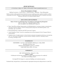 Resume For Engineering Sample Resume For A Midlevel Mechanical