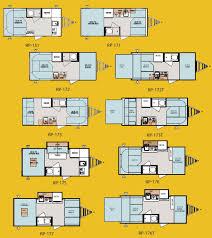 travel trailer floor plans. Forest River R-Pod Ultra Lite Travel Trailer Floorplans Floor Plans