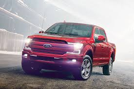 2018 ford work truck. wonderful truck detroit auto show new ford f150 pickup truck red throughout 2018 work