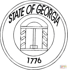 Small Picture State Of Georgia coloring page Free Printable Coloring Pages