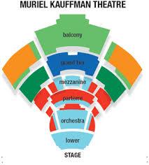 Kauffman Theater Seating Chart Ticketsage Inc Box Office Solutions Harriman Jewell Series