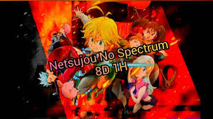 Netsujou no spectrum 8D 1 Hour - YouTube