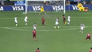 Manu Tube | كرستيانو رونالدو يضيع ضربة حرة بطريقة عجيبة فى مباراة المانيا  والبرتغال مونديال 2014 - YouTube