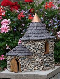 river stone miniatures fairy homes 1
