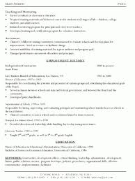 Resume Preparation Sample Fred Resumes