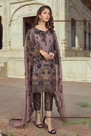 Pakistani Dress Designs Pictures Akbar Aslam Luxury Embroidered Chiffon Pakistani Collection