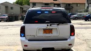 2006 Chevy trailblazer with emergency lighting - YouTube
