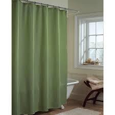 unusual green fabric shower curtain contemporary bathtub for