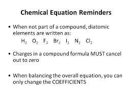 unit 4 chemical equations and stoichiometry types of reactions 2 chemical