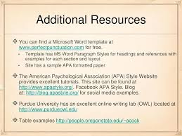 Apa Style The Essentials Ppt Download