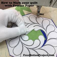 The Free Motion Quilting Project: Quilting Basics 4: How to Mark ... & How to Mark Your Quilt Top Tutorial Adamdwight.com