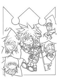 Small Picture kingdom hearts coloring pages Kingdom hearts 2 coloring pages