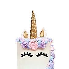 Unicorn Cake Topper Amazonca