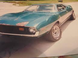 devon ford s 1973 american motors javelin amx