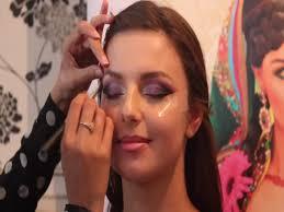 asian bridal wedding makeup tutorial traditional by raya beauty tune pk ivory smokey eye