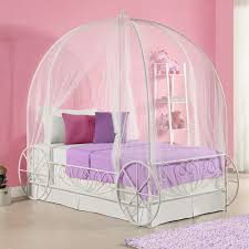 Bedroom: Cute Cinderella Carriage Bed For Your Daughter ...