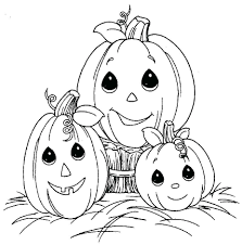Free Printable Halloween Coloring Pages For Kindergarten ...